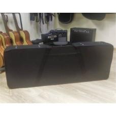 Кейс для гитары LP, SG и аналогичных. полужесткий, Нейлон/Пенопласт/Велюр, Черный (GC-1EF-2)