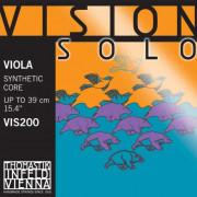 VIS200 Vision Solo Комплект струн для альта размером 4/4, среднее натяжение, Thomastik