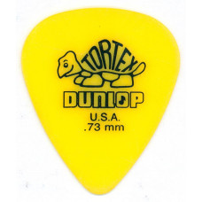 Медиатор Dunlop Tortex Standard желтый 0.73мм 418R.73