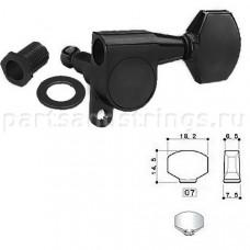 Колки Gotoh SG360-07 3L-3R Черный