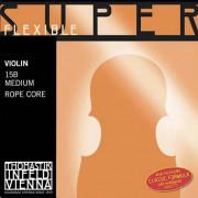 15B Super Flexible Комплект струн для скрипки размером 4/4, среднее натяжение, Thomastik