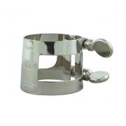 2254U Лигатура для саксофона альт, никелированная, обратная конструкция, Bonade
