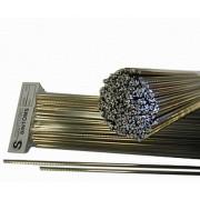 Ладовая пластина Sintoms (Синтомс) из нейзильбера, ширина 2,3 мм, длина 260 мм, особо твердые, 1 шт. (230140Fe.h.)