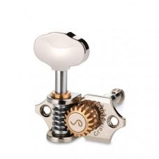 10510170.41.30 GrandTune Одиночный колок (6шт в комплекте), левый, никель, Schaller