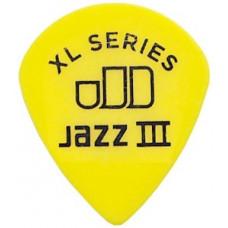 Медиатор Dunlop Tortex Jazz III XL Желтый 0.73мм. (498B.73)