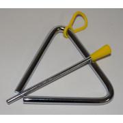 FLT-T04 Треугольник металлический, с палочкой. Fleet
