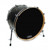BD18RBG Resonant Black Пластик для бас-барабана 18