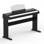 438PIA0712 Stage Concert Цифровое пианино, черное, со стойкой, Orla