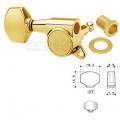 Колок правый (реверсный) Gotoh SG381-07-R/WS Золото