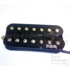 Звукосниматель для 7-ми струнной гитары Fokin Hot Breeze 7, нековый черный