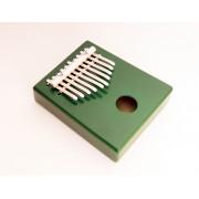 KMKr-2-GR Escudo Калимба, резонаторная, 10 язычков, трапеция, зеленая, Мозеръ