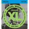 Струны D'Addario Nickel Wound 8.5-39 (EXL130+)