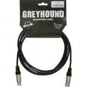 Кабель Klotz Greyhound микрофонный XLR, 1м (GRG1FM01.0)