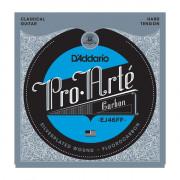 Струны D'Addario Classic Pro Arte Carbon Hard (EJ46FF)