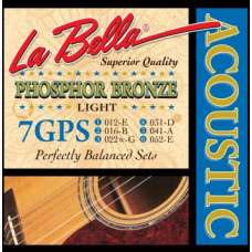Струны LaBella Phosphor Bronze Acoustic 12-52 (7GPS)