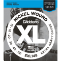 Струны D'Addario Nickel Wound 12-60 (EXL148XL)