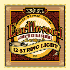 Струны Ernie Ball Earthwood 80/20 Bronze 12-String Acoustic 9-46 (2010)
