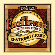 Струны Ernie Ball Earthwood 80/20 Bronze 12-String Acoustic 9-46 (2010)