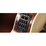 GS-3 Эквалайзер для акустической гитары, врезной, 4-х полосный, с инверсией фазы и тюнером, Cherub