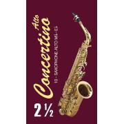 FR17SA03 Concertino Трости для саксофона альт № 2,5 (10шт), FedotovReeds