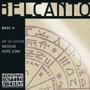 BC600S Belcanto Solo Комплект струн для контрабаса размером 3/4, Thomastik
