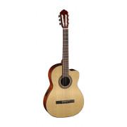 PC110 Электро-акустическая классическая гитара, с вырезом, Parkwood