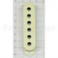 Крышка для звукоснимателя сингл Hosco OD-ST-CM, 10.5мм между отверстиями, винтажный белый