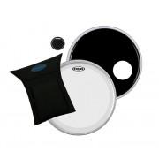 BD22B3 Набор пластиков для бас-барабана 22