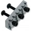 Топ-лок Schaller Nut R3, Хром 42.9мм (13120203)