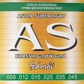 Cтруны Fedosov Acoustic для акустической гитары, латунь, 9-45 (AS109)