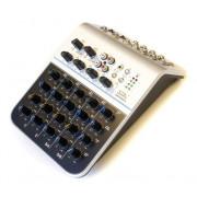 MIX02AU Мини-микшерный пульт, 6 каналов, USB, Soundking