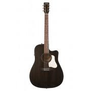042463 Americana Faded Black CW QIT Электро-акустическая гитара, Art & Lutherie