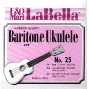 25-BARITONE Комплект струн для укулеле баритон LaBella