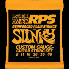Струны Ernie Ball Reinforced Plain Hybrid RPS Slinky 9-46 (2241)