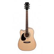 AD880CE-LH-NS Standard Series Электро-акустическая гитара, леворукая, с вырезом, Cort