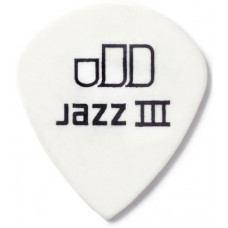 Медиатор Dunlop Tortex Jazz III XL Белый 1.5мм. (498B1.5)