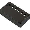 Крышка для звукоснимателя DiMarzio Humbucker Cover F-spaced, черная, матовая (GG1601BK)