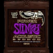 Струны Ernie Ball Power Slinky Acoustic 13-56 (2144)