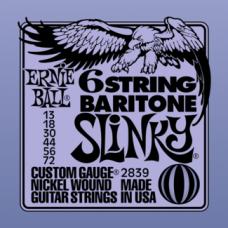 Струны Ernie Ball 6-string Baritone Slinky 13-72 (2839)