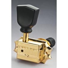 Колки Schaller Original G-Series Keystone SR Locking 3+3 Золото (10500523)