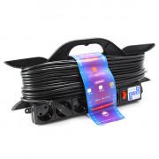 PC-LG5-R-30 PowerCube Удлинитель на рамке 16А/3,5 кВт, с вык. 30м, Электрическая мануфактура
