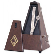 814 Maelzel Метроном механический, деревянный корпус, со звоночком, глянцевый, Wittner