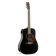 027323 Protege B18 Cedar Black Presys Электро-акустическая гитара, Norman