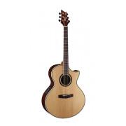 NDX-50-NAT NDX Series Электро-акустическая гитара, с вырезом, цвет натуральный, Cort