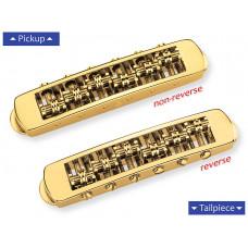 12080500 STM Бридж Tune-O-Matic, золото, Schaller