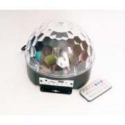 ML001 Светодиодный эффект «диско-шар» большой, 9х1Вт, RGBWAYOPG Bi Ray