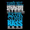 Струны Ernie Ball Stainless Steel Extra Slinky Bass 40-95(2845)