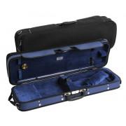 JW-3023-N-012 Футляр для скрипки размером 4/4, деревянный, черный/синий, Jakob Winter