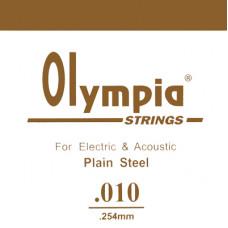 Струна Olympia для гитары 010, сталь (SA010)
