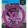 Струны D'Addario Nickel Wound 7-string 9-54 (EXL120-7XL)